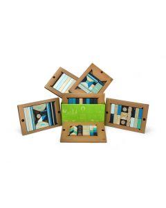 Tegu Classroom Kits - 130 Piece set in Blues