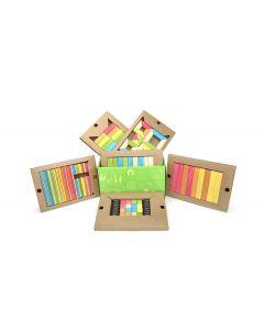 Tegu Classroom Kit, Tints, 130 piece