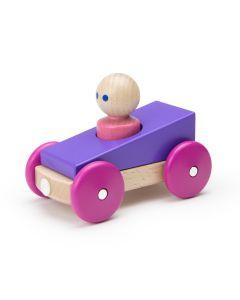Magnetic Racers- Purple Racer
