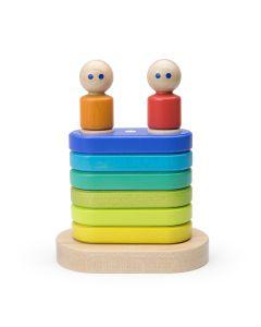 Floating Stacker - Rainbow